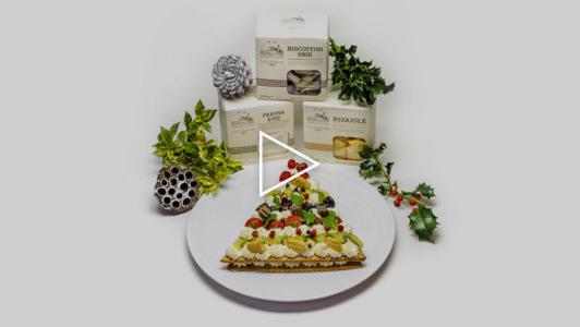 La cream tart di Natale